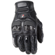 Moto-Air Black Gloves