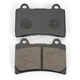 Standard Organic/Carbon Fiber Brake Pads - VD242