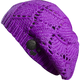Womens Purple Reggae Beats Beanie - 68053-053
