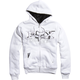 White Merge Sasquatch Zip Hoody