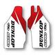 Honda Dunlop Sponsor Logo Lower Fork Graphics - 1340360