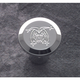 Ball Milled Chrome Billet Choke Knob - 950109JC