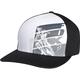 Black/Gray Strip Flex-Fit Hat