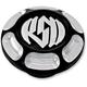 Chrome Vintage Billet Aluminum Gas Cap - 0210-2018-CH