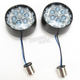 Black Rear LED Bullet Turn Signal Inserts - 5458