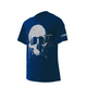 Harbor Blue Road Skull T-Shirt