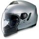 Metallic Platinum N43ET Trilogy N-Com Helmet
