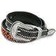 Womens Leopard Leather Belt