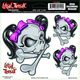 Bow Skull Decal - 1600-0128