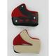 Red/White Cheek Pads for HJC Helmets