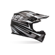 Silver/Black MX-2 Breaker Helmet