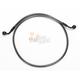Black Pearl Designer Series 60 Degree Top Angle Custom Single-Disc Front Brake Line - 46646SW