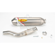Factory 4.1 Natural Titanium Slip-On w/Stainless Midpipe - 044206