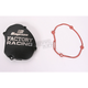 Factory Racing Ignition Cover-Black - SC-33AB