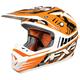 Orange Strike Octane Helmet