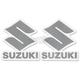 Suzuki S Logo Stickers