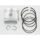 High-Performance Piston Assembly - 66.5mm Bore - 4156M06650