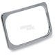 Chrome Stealth 2 License Plate Frame - SLP2-C