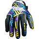 Purple/Yellow Hazard-X Gloves