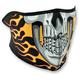 Burning Skull Half Face Mask - WNFM061H