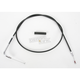 Alternative Length Black Vinyl Idle Cable for Custom Height/Width Handlebars - 0651-0248