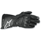 Womens Black Stella SP-8 Gloves