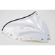 11 1/2 in. Gloss White Peakline Windshield - 48040155