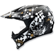 Black/White AX-8 Helmet