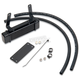 Black Horizontal Mount Oil Cooler - 1290