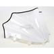 11 1/4 in. Gloss White Peakline Windshield - 48020055