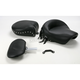 Studded Wide Touring Seat with Driver Backrest - 79233