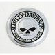 Willie G Skull Fuel Cap Medallion
