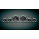 Skulls Medallion Premium Bagger Gauge Kit - 8960-00123-01