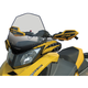 17 1/2 in. Clear w/Black and Yellow Graphic Windshield - 10343011