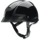 Vagrant Pinstripe Black Half Helmet