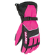 Womens Pink/Black Storm Gloves
