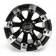 Black 393X Cast Aluminum ATV/UTV Wheel - 0230-0520
