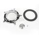 Chrome Turbine Venturi Faceplate Kit - 0206-2053-CH