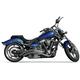 Curved Slash-Cut Exhaust System - BA-1025-00