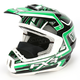 Green/Black Torque Helmet