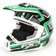 Green/Black Torque Helmet