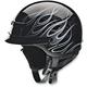 Black/Silver Nomad Hellfire Helmet