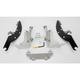 Batwing Black Trigger Lock Hardware - MEK1924