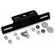 Black Aluminum License Mount - 22-510-L