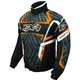 Black/Charcoal/Orange Helix Hazard Jacket