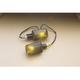 Universal Mini-Stalk Turn Signals - Carbon w/Smoke Lens - 25-8119