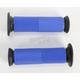 Blue Superbike Grips - D091BLO