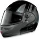 N103 N-Com Black Motorrad Modular Helmet