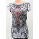 Womens Flutter Sleeve T-Shirt