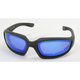 Black C-2 RV Performance Sunglasses w/Blue RV Lens - C-2BK/BLU